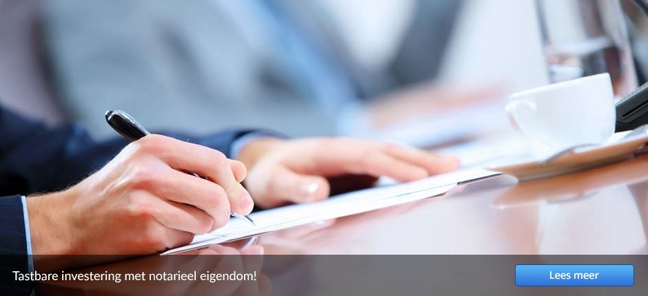 Tastbare investering met notarieel eigendom
